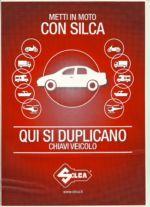 SILCA - duplicazioni chiavi veicolo
